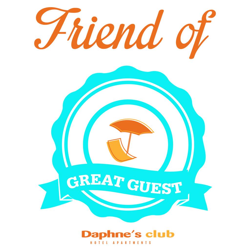 Loyalty program Friend of Great Guest