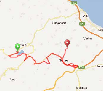 Cycling & Wine-tasting in Nemea