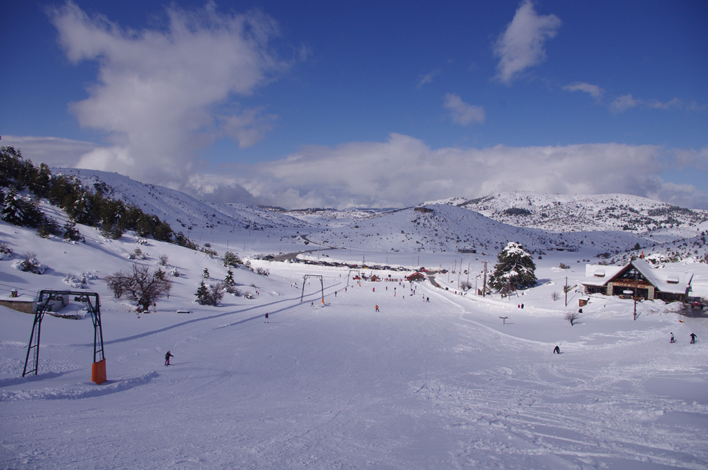 Ski safari in the area's ski resorts