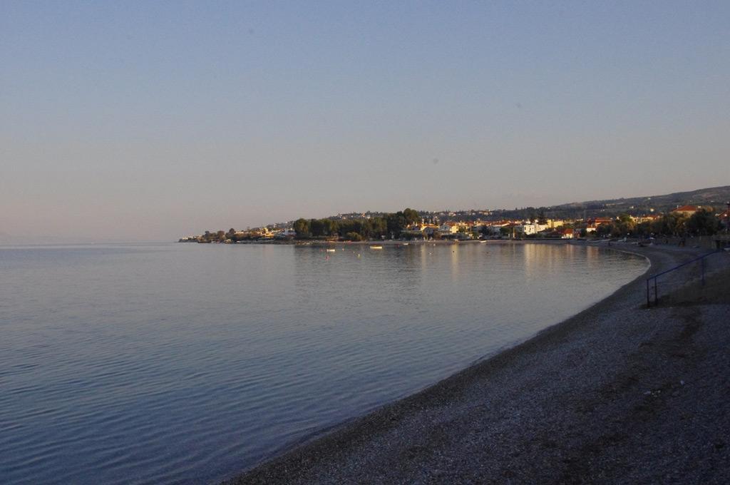 Sykia Pebbled beach