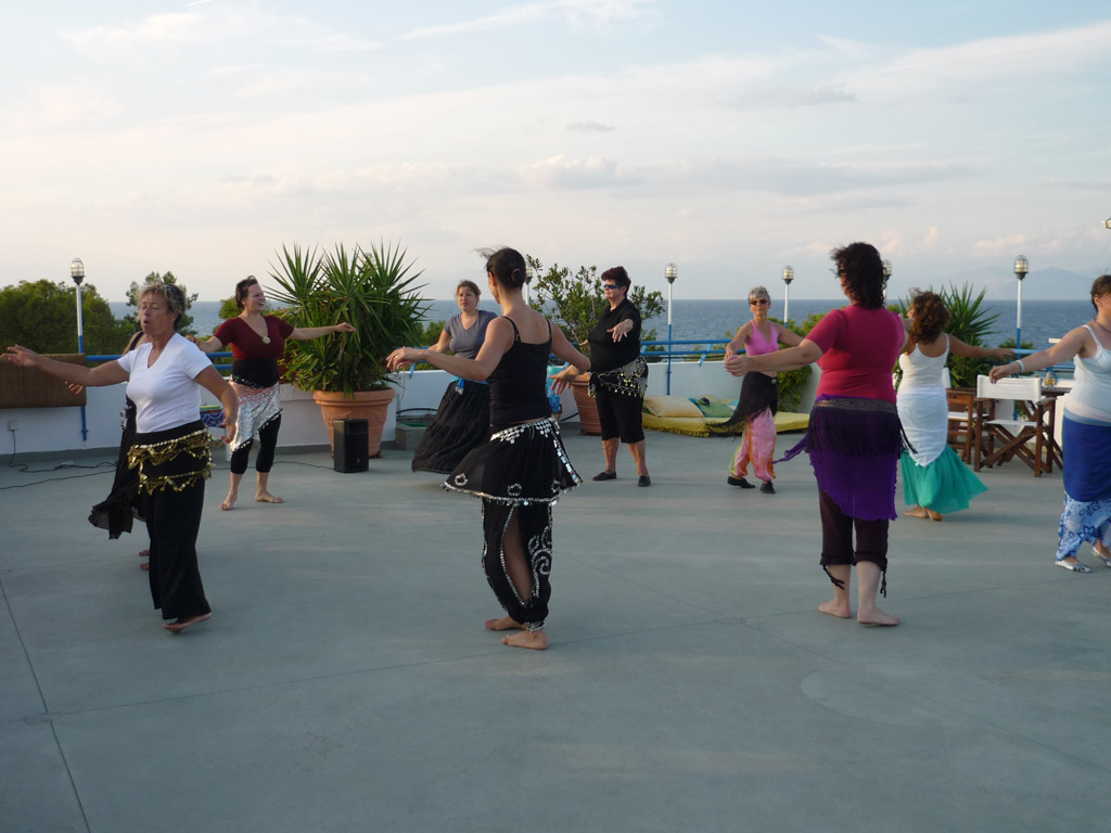 Oriental dance retreats