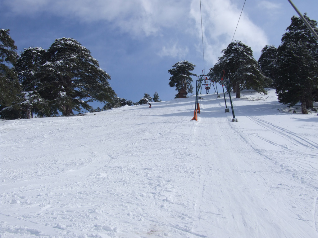 Ski safari in the area's ski resorts