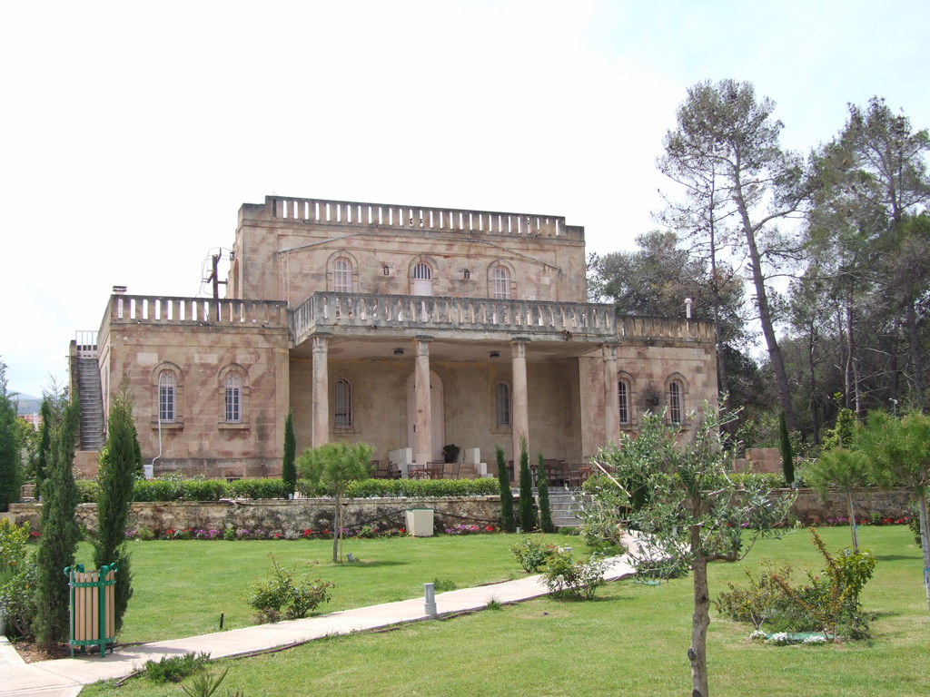 The holiday home of poet Aggelos Sikelianos