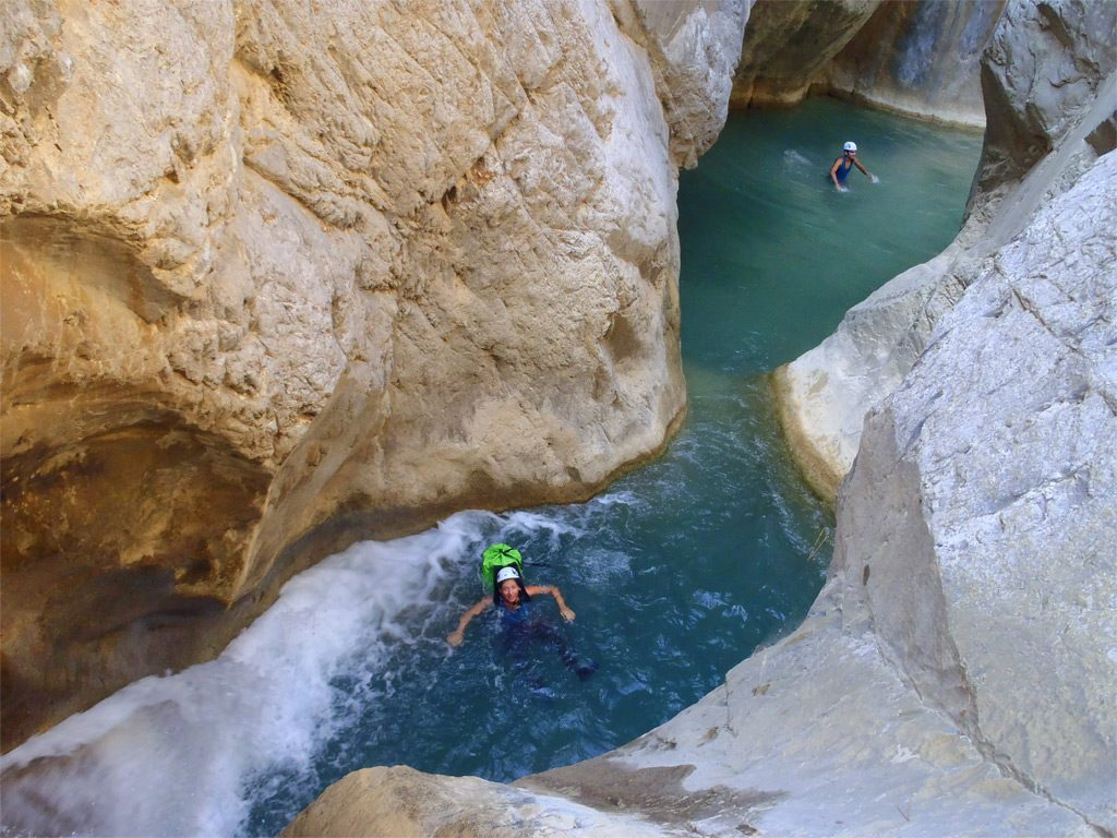 Canyoning at Daphne's Club