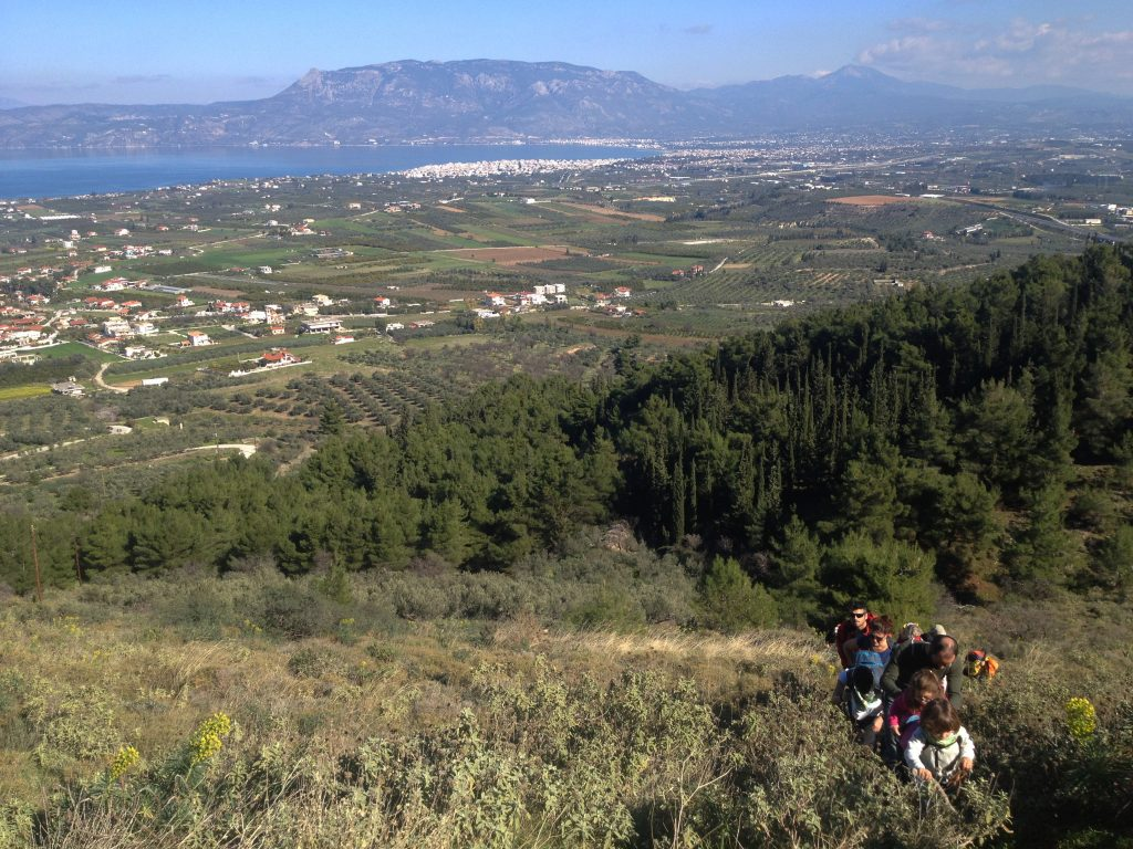 Hiking Corinthia Acrorinthos