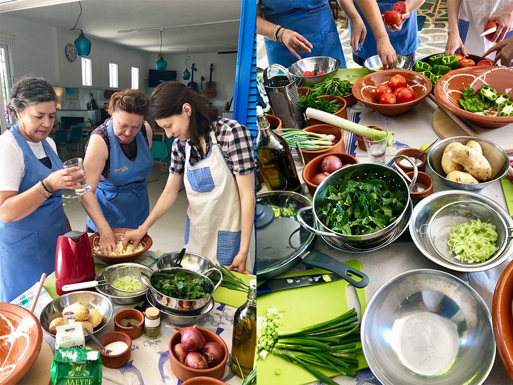 Greek Cooking Workshops at Daphne's Club