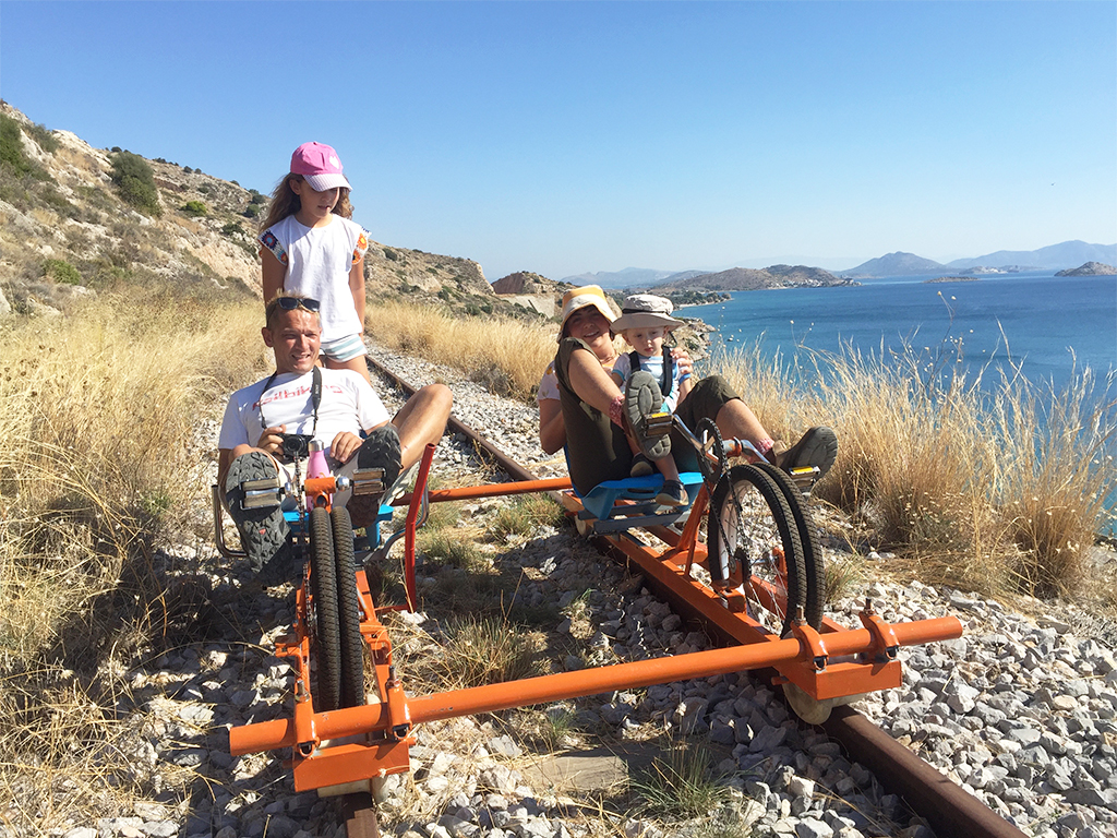 railbiking megara